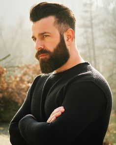 47 Best Short Beard Styles for Men of All Ages and Face Shapes Beard beard designs Different Beard Styles, Beard Styles For Men, Hair And Beard Styles, Beards And Hair, Trimmed Beard Styles, Men Hair, Trending Beard Styles, Tapered Beard, Stylish Beards