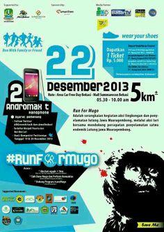 #RunForMugo pertama, ketemu juga pamfletnya. hahahahahahahahahaha. Thanks to BUC. i pin it yah..