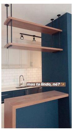 Small Kitchen Bar, Small Kitchen Furniture, Kitchen Bar Design, Home Decor Kitchen, Interior Design Kitchen, Small Kitchen Interiors, Zen Kitchen, Kitchen Ideas, Home Room Design