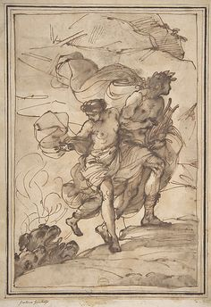 Orpheus and Eurydice Pedrini