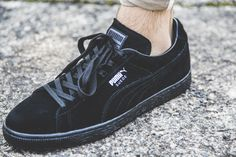 The all-black Puma Suede Classic+ is available at our Shop now! EU 41 - 46 | 70,-€