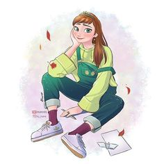 엘사와 안나에게 현대복장을..🥰- 제 그림 좋아해주셔서 감사합니다🙏- Thanks🙏- - - #겨울왕국 #겨울왕국2 #엘사 #안나 #덕질 #겨울왕국팬아트 #팬아트 #그림 #만화 #디즈니 #캐릭터 #frozen #frozen2 #frozenfanart…
