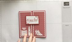 Card Making Tutorials, Card Making Techniques, Card Making Templates, Fancy Fold Cards, Folded Cards, Christmas Card Crafts, Shaped Cards, Stamping Up Cards, Unique Cards