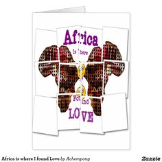 Africa is where I found Love Card #Share your style the African way with these endless maps of Africa ans the new African style. Remember #Hakuna #Matata always which ,means no #worries and no #problems or no hustles and #live #life #large.