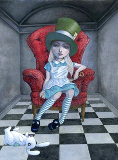 ELEVEN - ALICE IN WONDERLAND BY TORY AND NORMAN TABER