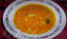Jednoduchá mrkvová polévka | recept Thai Red Curry, Soup, Ethnic Recipes, Soups