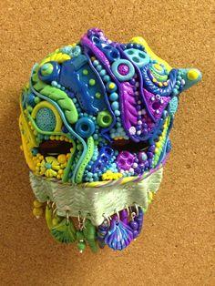 Polymer clay mask