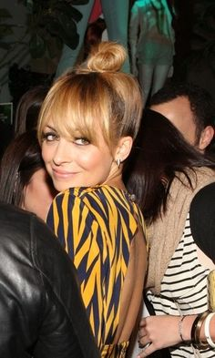 Nicole Richie, Winter Kate + Top Knot
