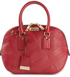 62f872863b26 Burberry London - Red The Small Orchard Tote