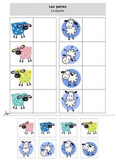 Les paires : les moutons