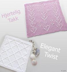 Gratis oppskrift på kluter Knit Dishcloth, Diy And Crafts, Coin Purse, Wallet, Purses, Elegant, Knitting, Design, Decor