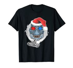 Merry Christmas Dinosaur Wearing Santa Hat T-Rex T-Shirt Christmas Fun Merry Christmas Funny, Funny Christmas Shirts, Christmas Humor, Christmas Dinosaur, Shirt Price, Santa Hat, T Rex, Branded T Shirts, Fashion Brands