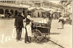 Ambulante de Lima Antigua