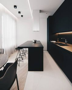 15 Gorgeous Black Kitchens – BlueSky Interior Design