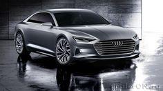 Концепт Audi Prologue / Ауди Пролог – вид спереди