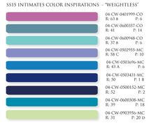 S/S 2015 intimates colors inspiration