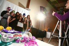 Reception Photo Booth.