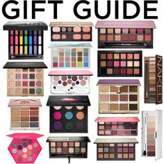 Gift Guide: Eye Shadow Palettes from Sephora. by downeastgirl88 on Polyvore featuring beauty, Anastasia Beverly Hills, MAKE UP FOR EVER, Urban Decay, tarte, Huda Beauty, Stila, Sephora Collection, Clinique and Bare Escentuals  Holiday Season, 2016