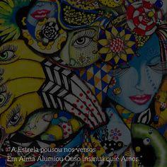 Ilustração Muié Colores - Constelação Dizúria