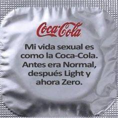 Mi vida sexual es como la Coca Cola (pineado por @Pablo Ilde Ilde Ilde Ilde Coraje)