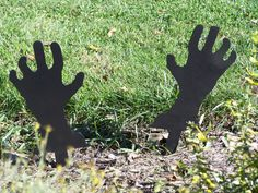 Mains de Zombie ! Décorations d