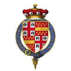 Coat of Arms of Sir Henry Bourchier, 5th Baron Bourchier, KG