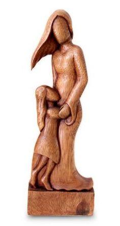 Wood sculpture, 'Mother and Daughter'  NOVICA , http://www.amazon.com/dp/B0063LWGU2/ref=cm_sw_r_pi_dp_cv4Dpb0P8Y8T4