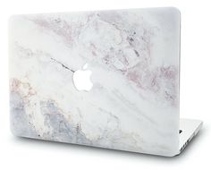 Macbook Case | Marble Collection - White Marble 2