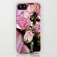 Pink roses iPhone & iPod Case by Guna Andersone - $35.00