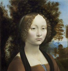 Ginevra de' Benci - National Gallery of Art. Washington, DC