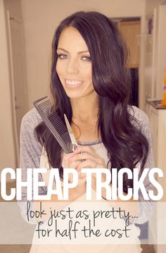 Cheap tricks on how to look pretty on a budget. Great beauty blog. Maskcara.com