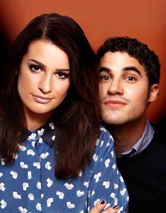 Lea and Darren. I feel a need to replace my face with Darren, but then replace my face with Lea, and then just split the picture in half and put myself with the both of them :)