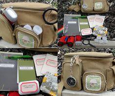 Homemade nature explorer kit - awesome idea