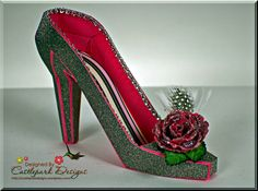 Glitz and Glam High Heel Shoe