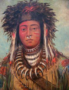 Boy Chief Ojibbeway, George Catlin: American 1843