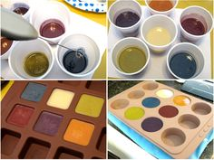 One of my favorite things to do as a soap maker is to mix colors! I'm by no means an expert but I wanted to share how I mix, test and use colors. In this post we'll focus on oxides and ultramarines...