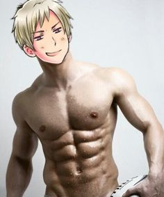 ((Like, this is how ripped Gilbert is))