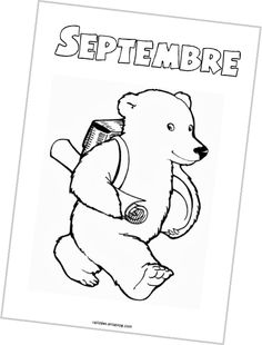 Les fiches du mois Teaching French, Kindergarten, Preschool, Snoopy, Teddy Bear, Classroom, Album, Activities, Education