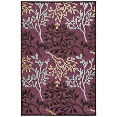rugs jewel tones modern | purple area rug with bone, ice blue, mahogany, and pearl color tones ...