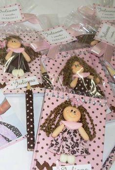 decoración de fiestas - muñeca de trapo