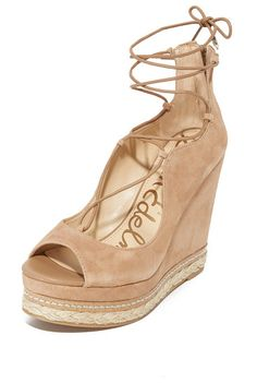 e88ad94999d112 harriet wedges by Sam Edelman. Layers of braided jute and cork trim add  natural style