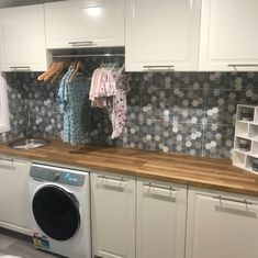 Happy customers laundry renovation - we love the tiles selected  #happycustomer #tpghtiles #tilepowergregoryhills #tiles