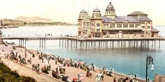Britain's heritage of piers dates from the boom in seaside resorts during the Victorian era.
