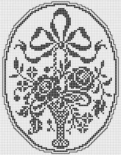 Kira scheme crochet: Album floral motifs