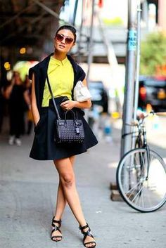 20 Coolest Wearable Street Style Looks From Spring 2015 Fashion Month | Lookastic for Women