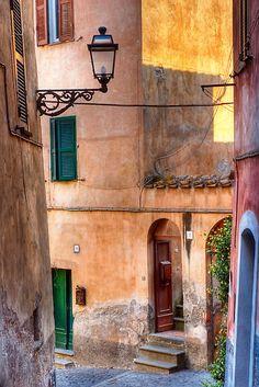 Italian alley by Silvia Ganora