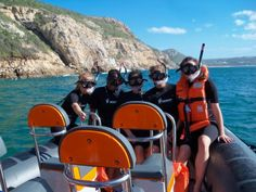 California University study abroad students get to experience snorkeling in South Africa.