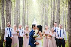 See Bianca and Walter's Stunning Outdoor Wedding #hitchedrealwedding