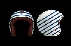 Ruby Helmets. Safety first; Fashion firster. #Motorcycling #Riding #SummerofDoing