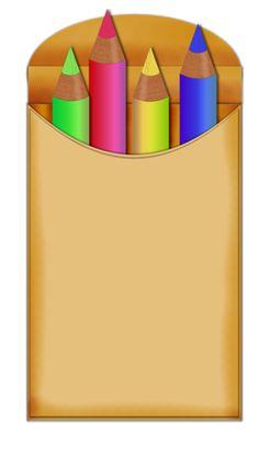 CRAYONS CLIP ART | School Clipart | Pinterest | Clip art, Crayons ...